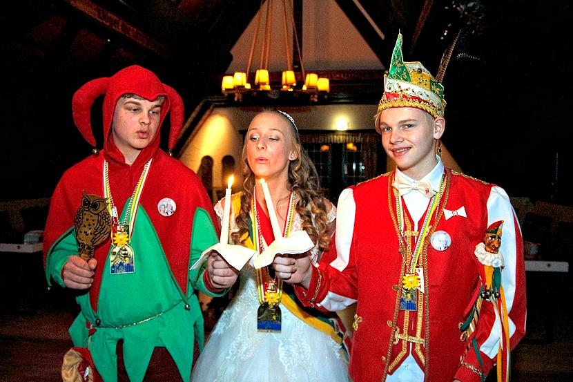 Jugendtill Ole, Prinzessin Sarah I., Prinz Tom I.